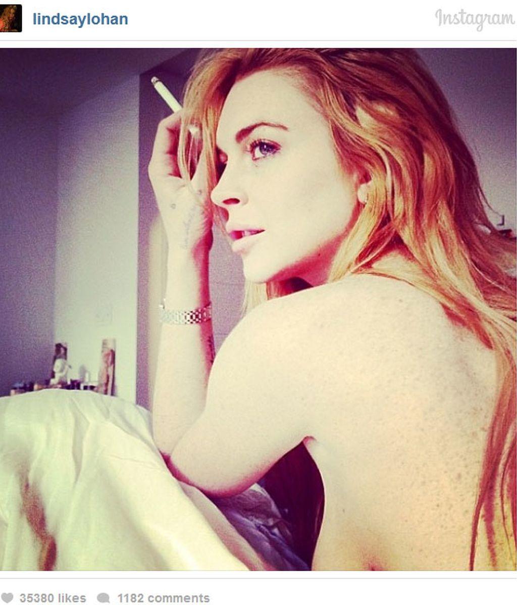 Lindsay Lohan,Instagram,actriz,