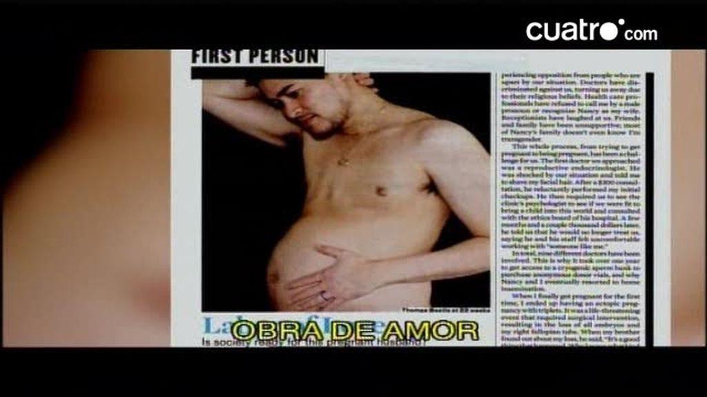 La polémica está servida cuando un hombre se queda embarazado