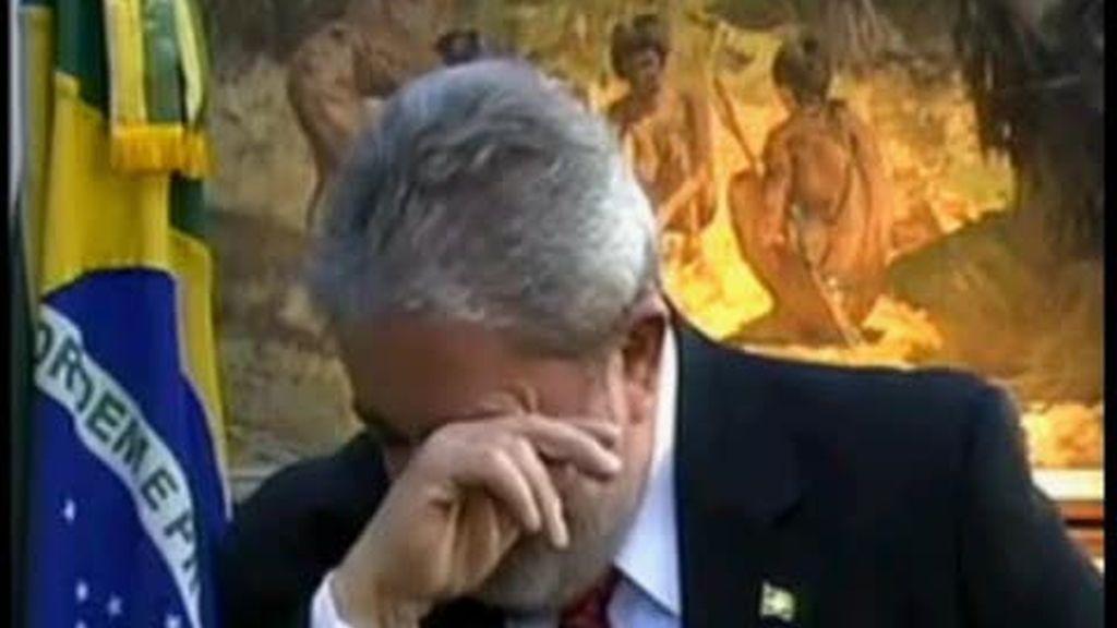 Las lagrimas de Lula