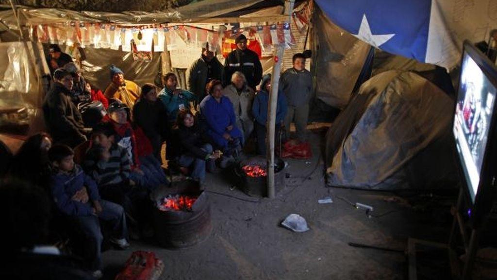 Tensión en el campamento Esperanza