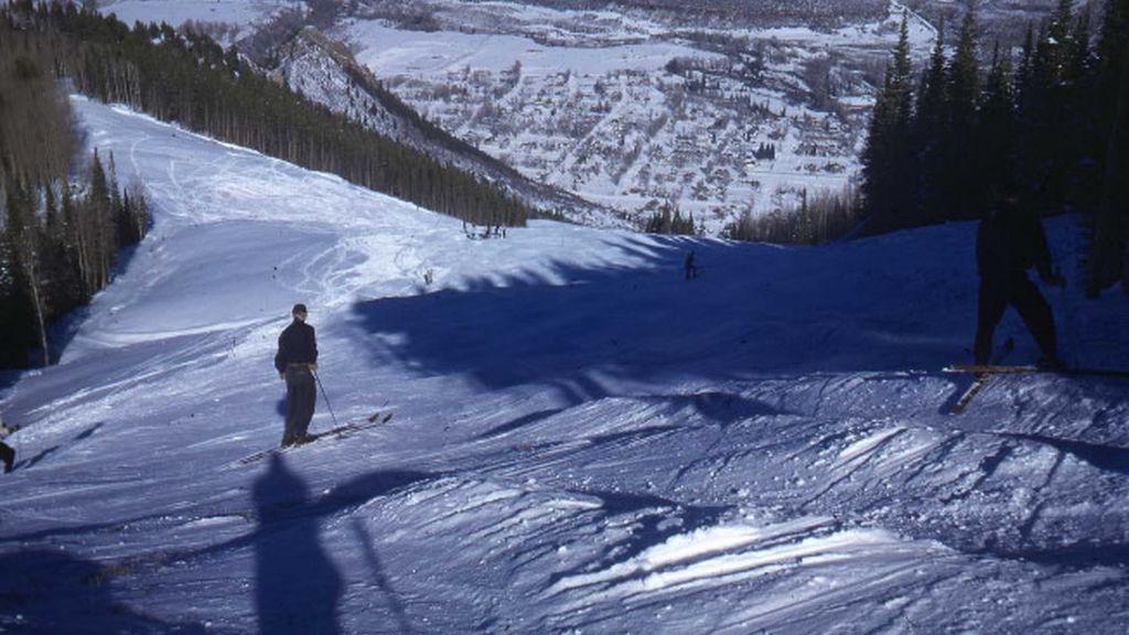 La nieve da color a las laderas de Aspen