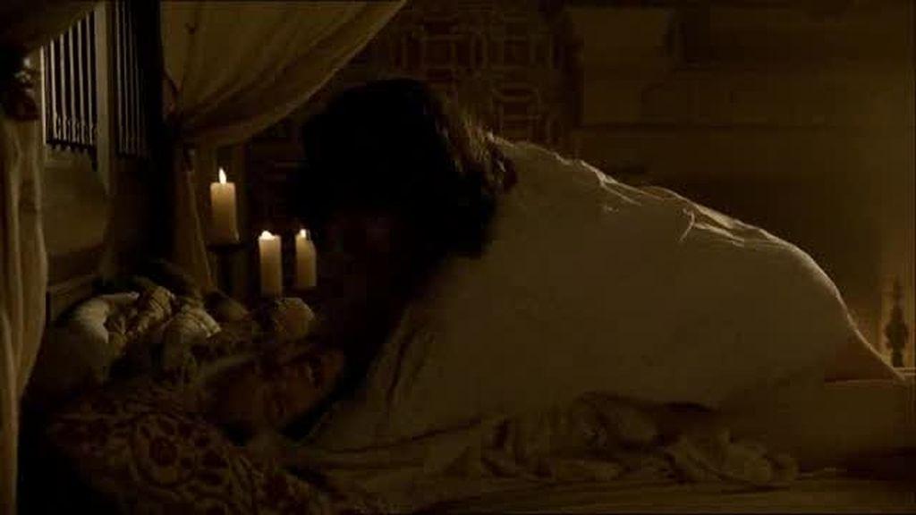 Giovanni Sforza viola a Lucrecia