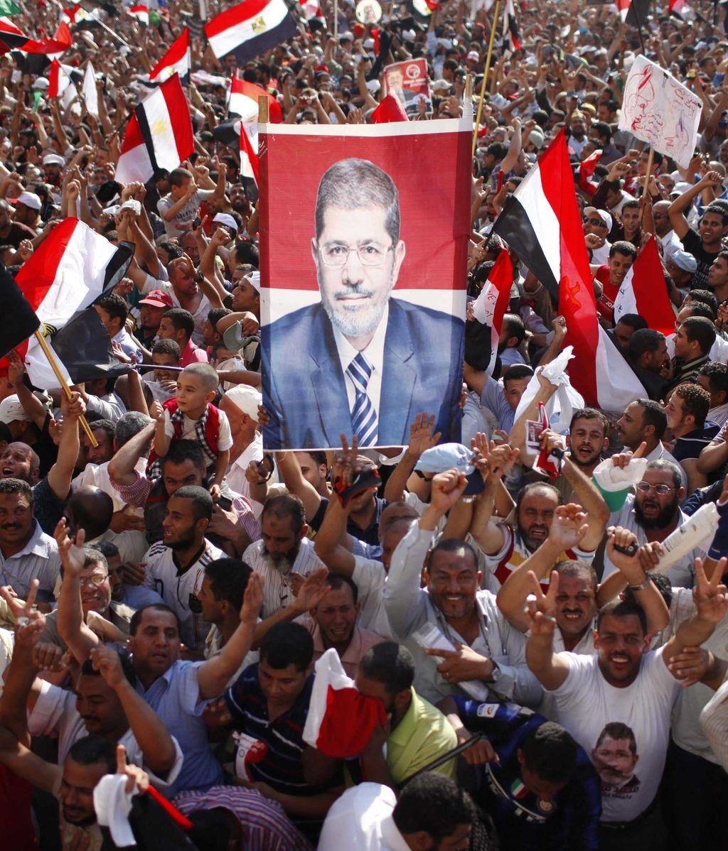 La Plaza Tahrir rompe en júbilo por el nuevo presidente
