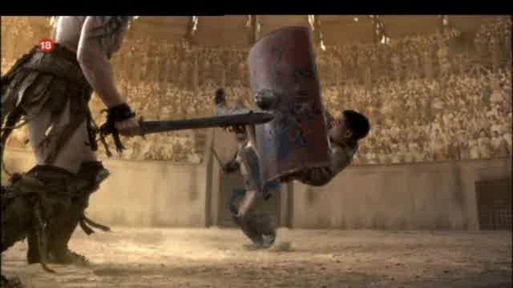 Promo Spartacus: Los dioses os ayudarán
