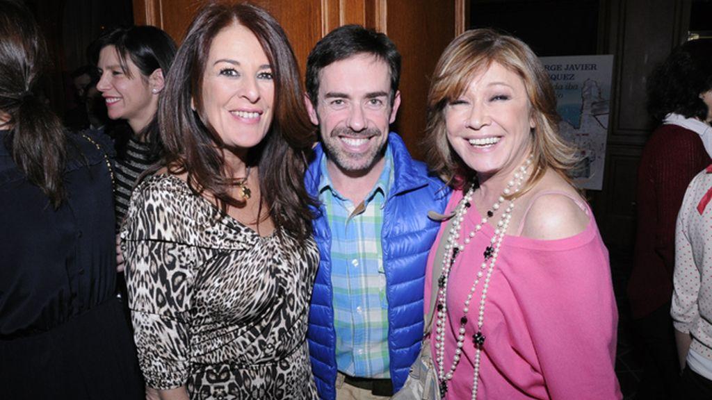 Ángela Portero, Jesús Manuel Ruiz y Mila Ximénez