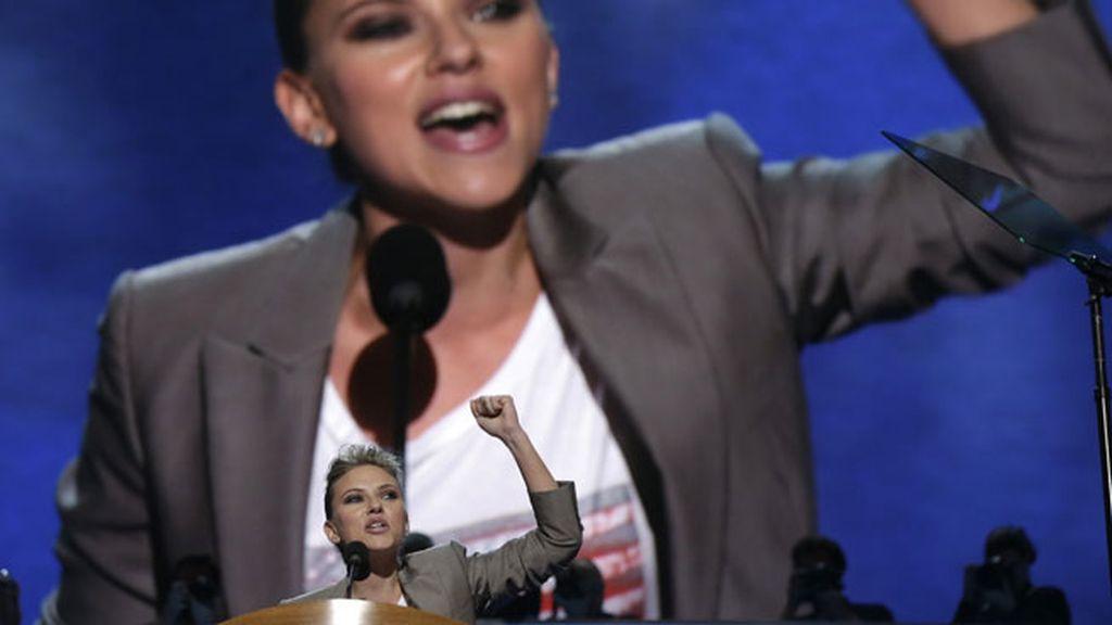 El vibrante discurso de Scarlett
