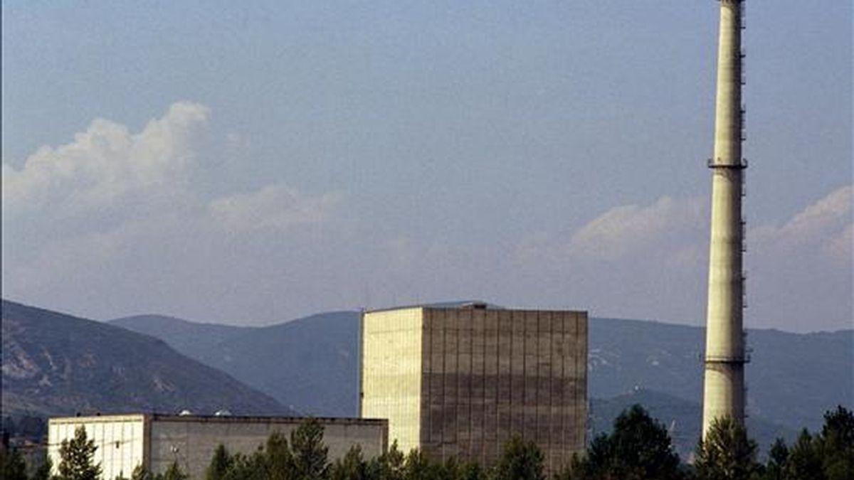 Vista de la central nuclear de Garoña. EFE/Archivo
