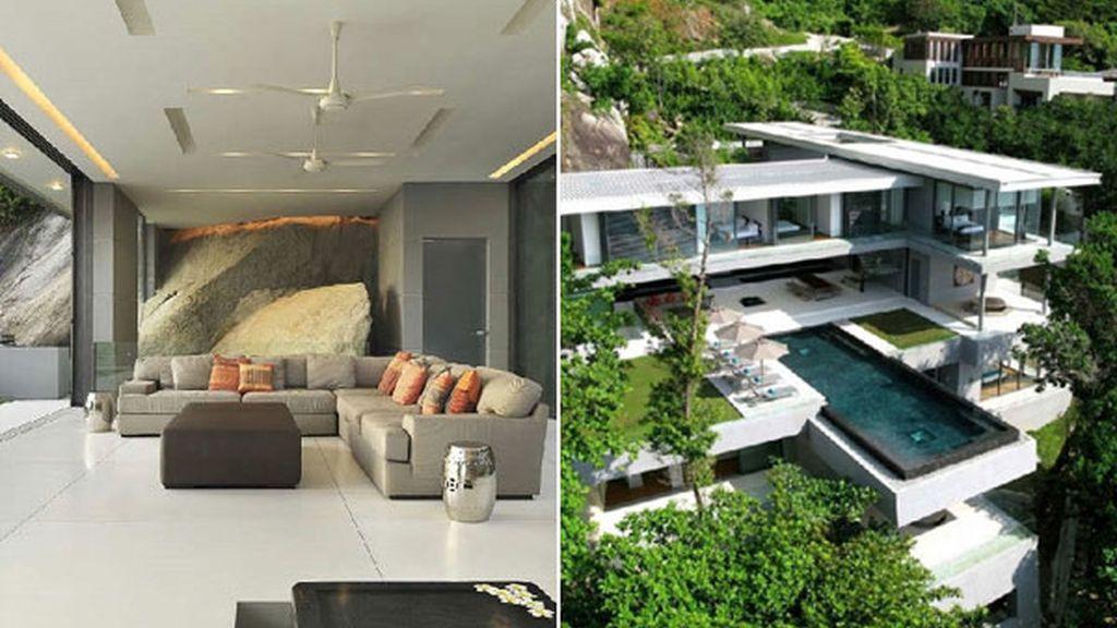 Villa Amanzi, en la costa de Phuket (Tailandia)