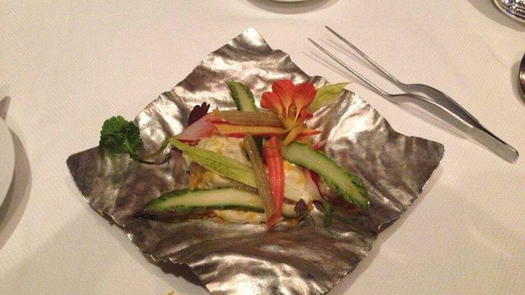Extrañas maneras de servir platos de comida