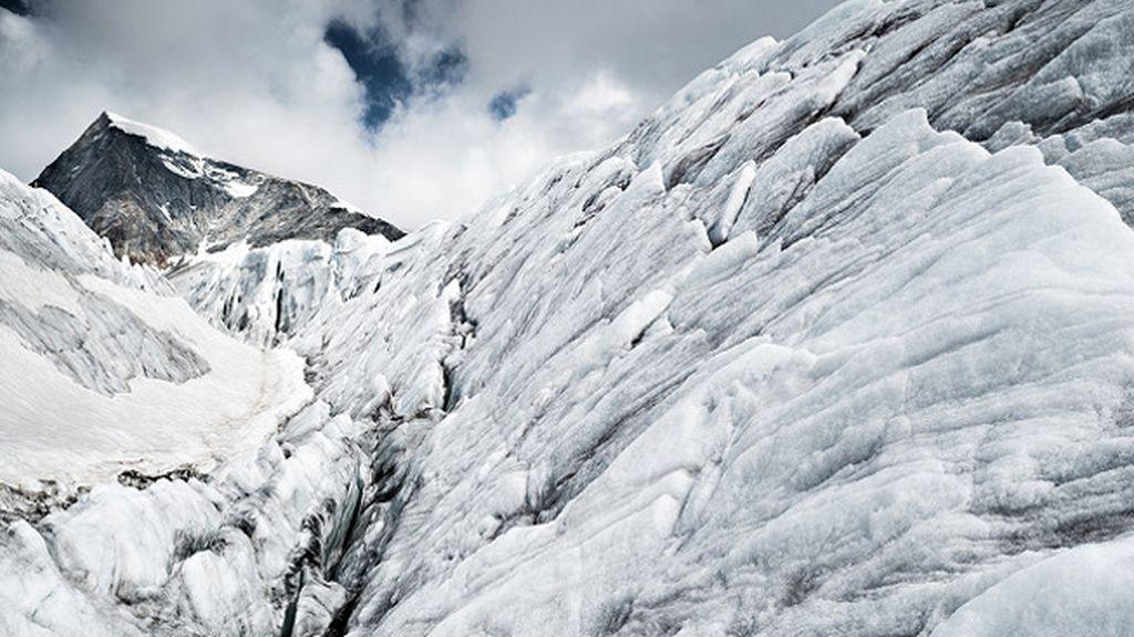 Otro de los glaciares suizos visitados por Poffet