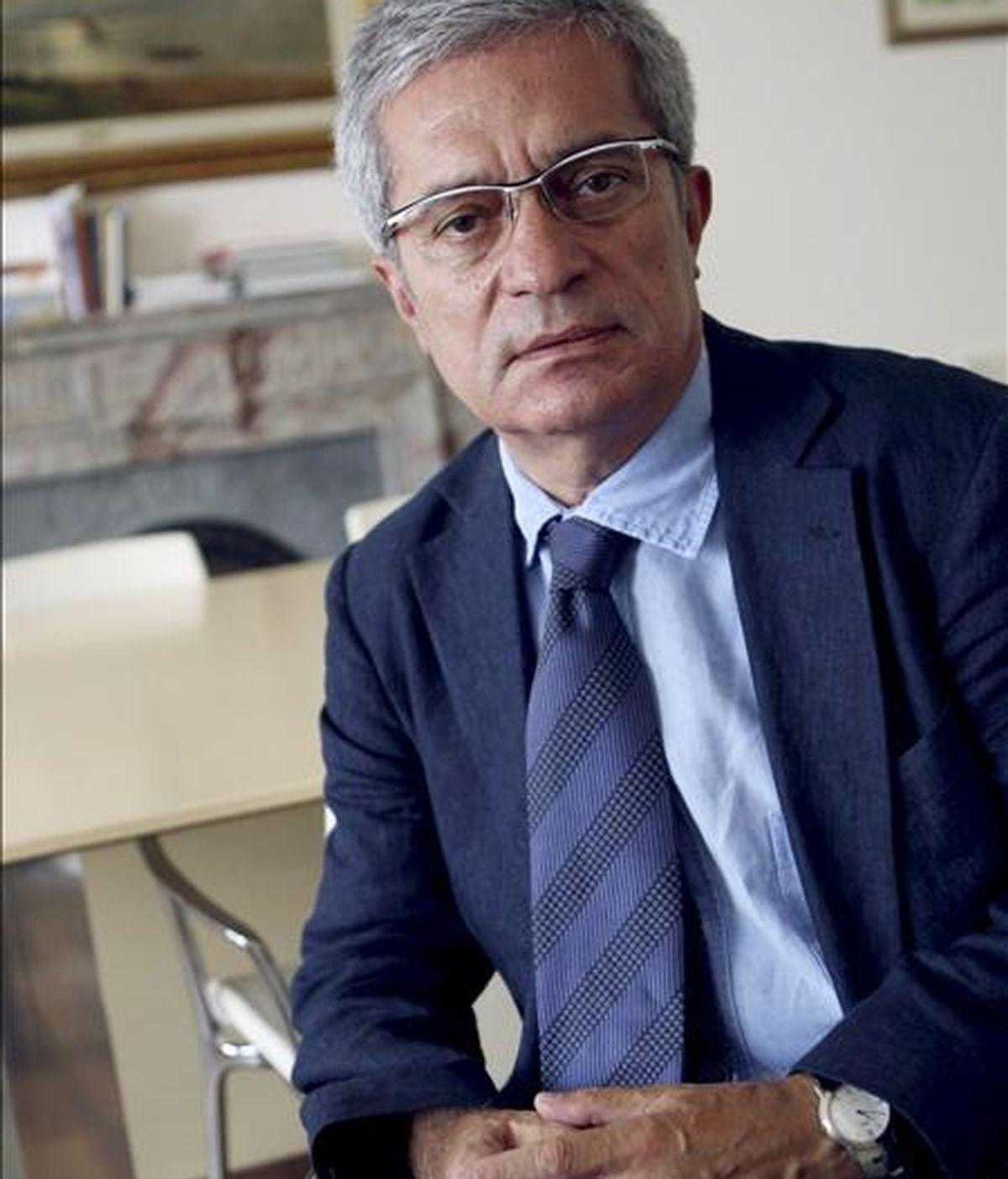 El conseller de Relaciones Institucionales de la Generalitat, Joan Saura. EFE