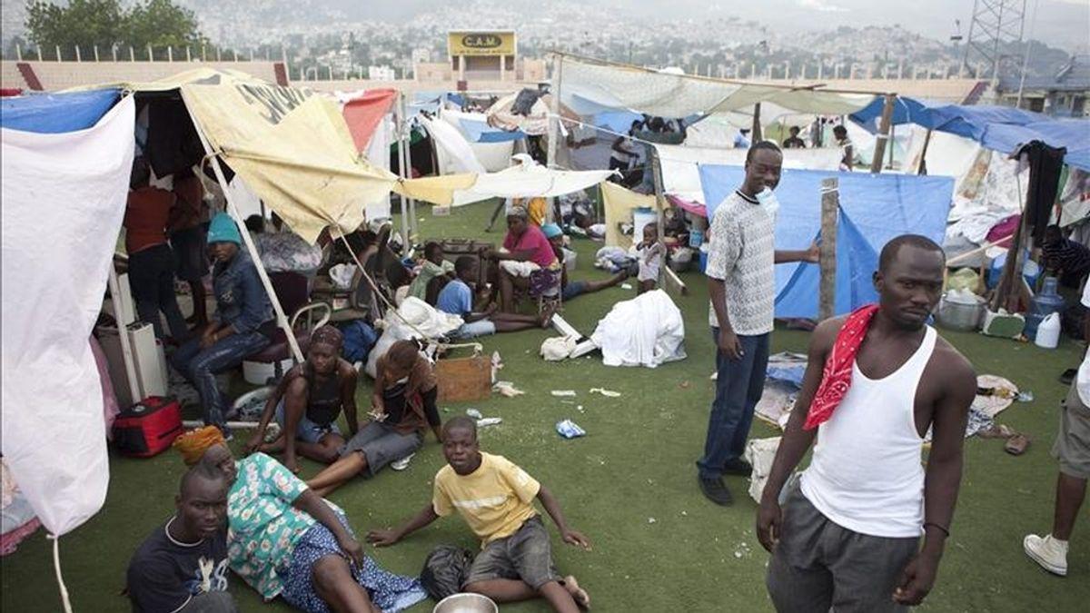 """""""El terremoto empeoró la situación"""", aseguró la ONG Save The Children, que ha proporcionado ayuda a lo largo del año a más de 870.000 haitianos, entre ellos 500.000 niños y niñas. EFE/Archivo"""