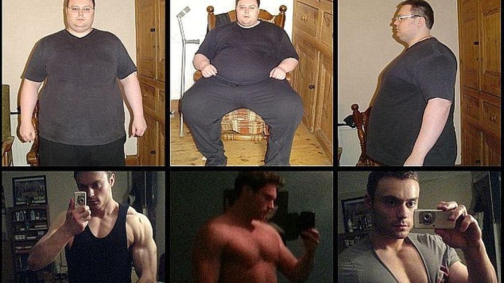 Pierde 114 kilos después de haber estado a punto de suicidarse por sus problemas de peso