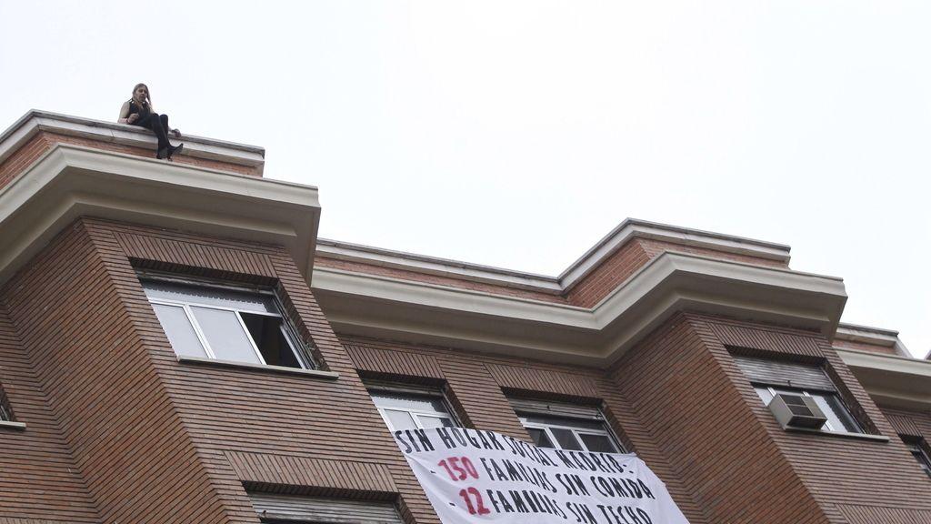 Suspendido el desalojo del edificio okupado en Chamberí por la amenaza de suicidio de una persona