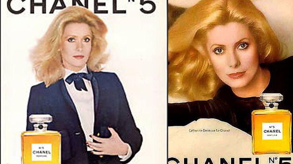 Deneuve y Chanel, símbolos franceses