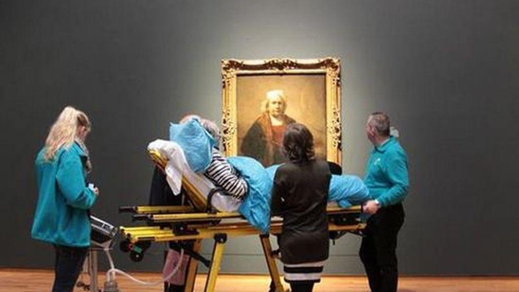 Una enferma terminal pide como último deseo contemplar sus obras favoritas