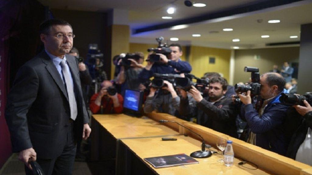 Bartomeu rechaza la sanción de la FIFA