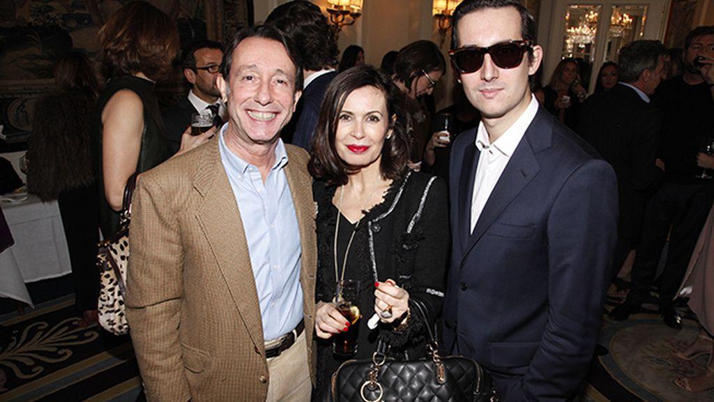 Con Carlos Pérez Gimeno y Teria Yabar