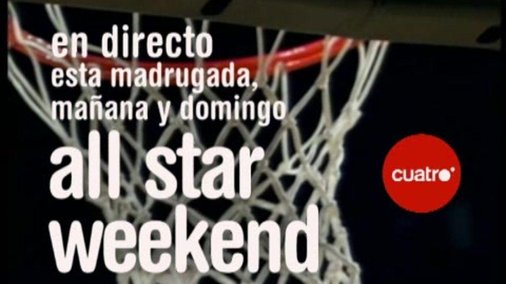 Promo All Star Weekend: Las estrellas juegan en Cuatro