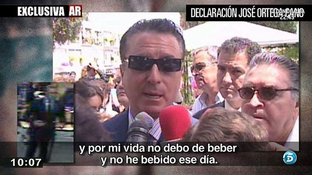 Ortega, desafiante