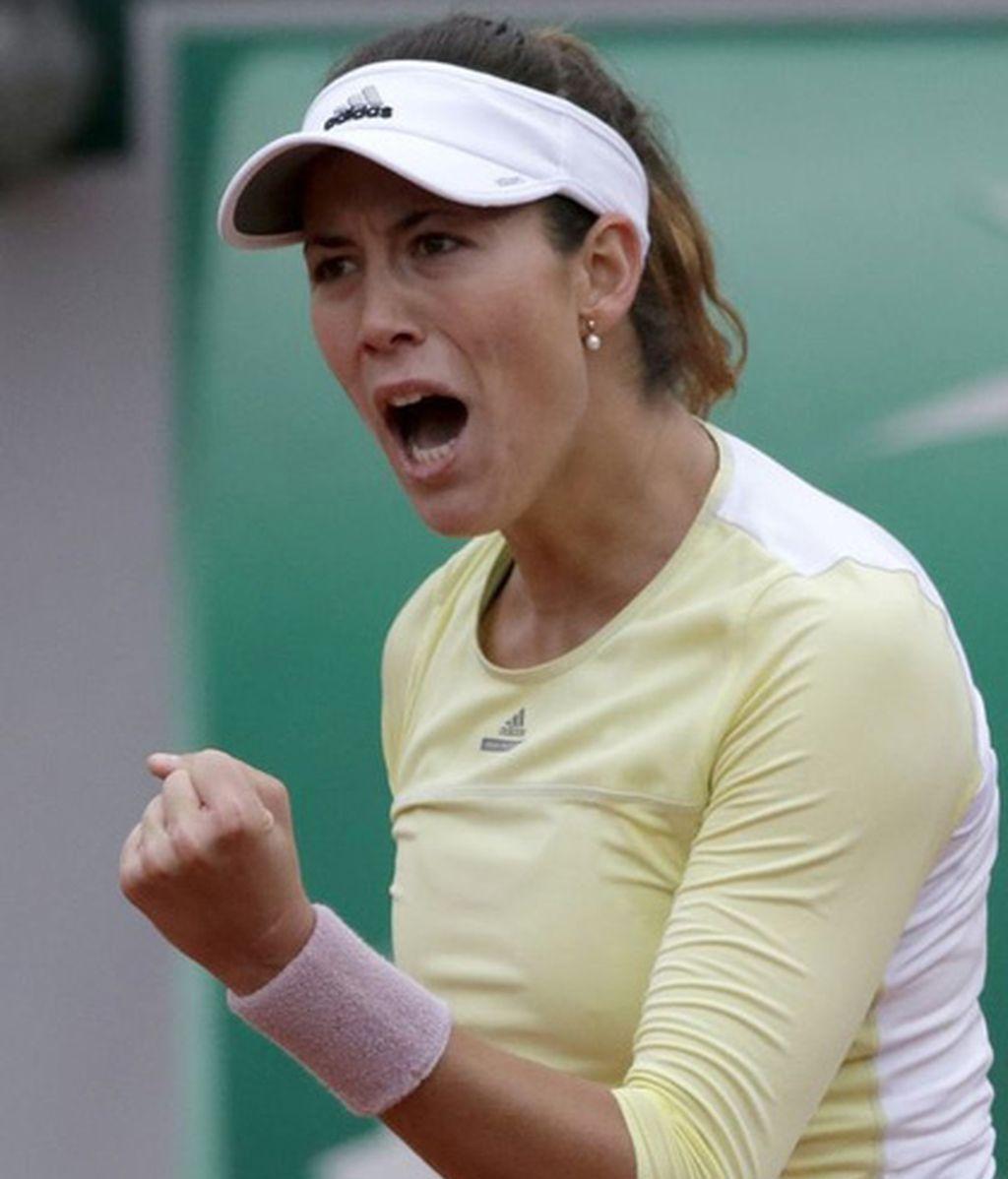 Garbiñe Muguruza pasa a la final de Roland Garros