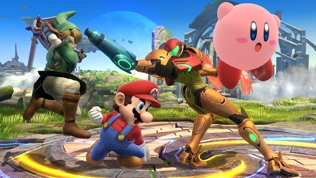 Diversión para niños y mayores en Super Smash Bros.
