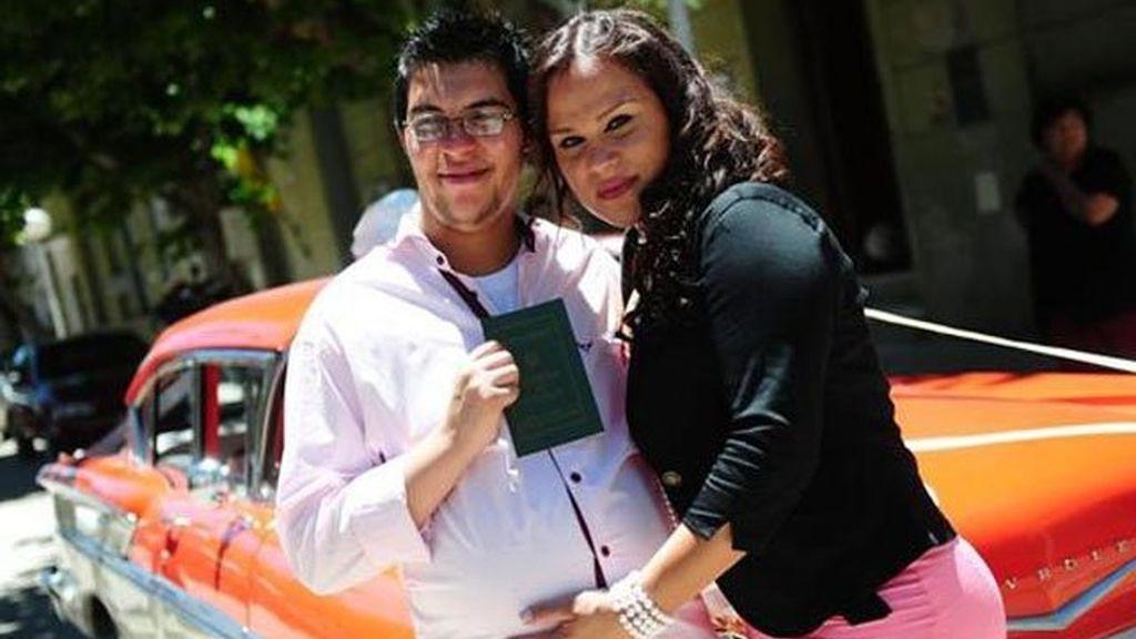 Alexis Taborda y Karen Bruselario