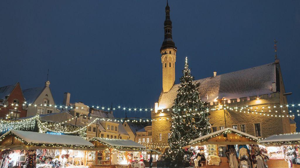 Mercado de Navidad en Estonia