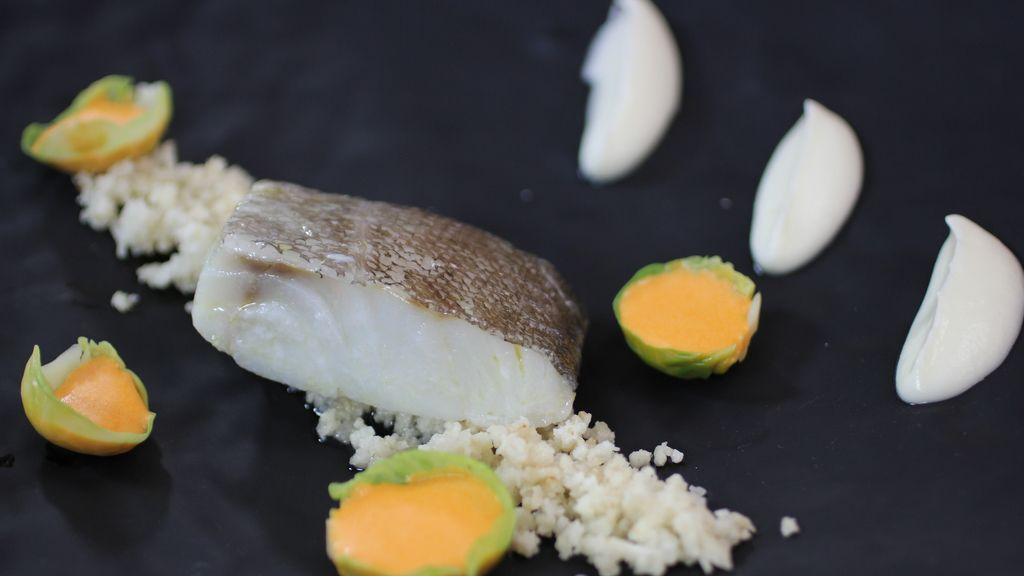 Bacalao con coliflor y ajada de 'Robin Food'
