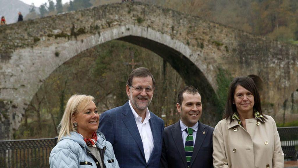 Mariano Rajoy en Cangas de Onís
