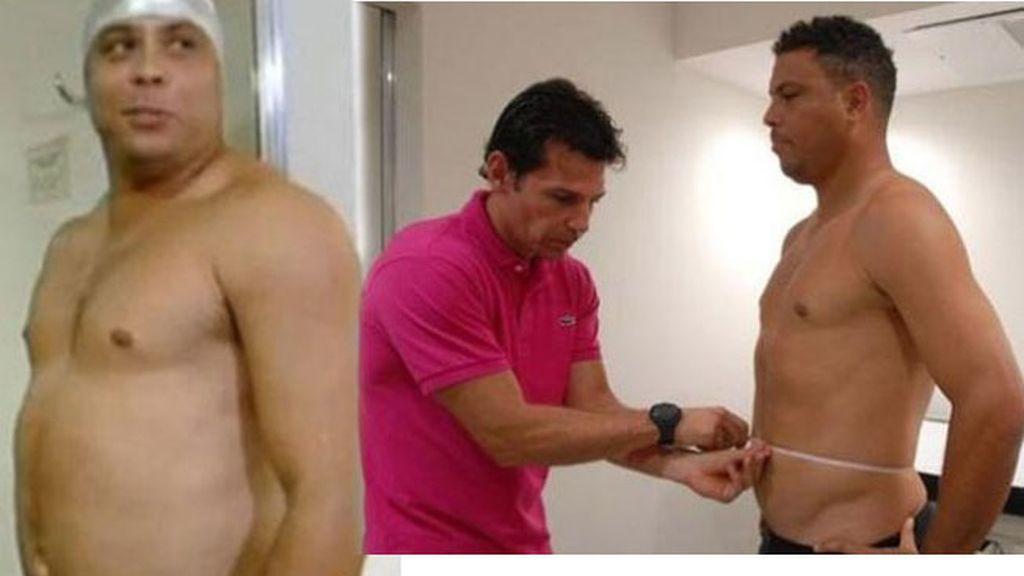 Ronaldo baja de peso