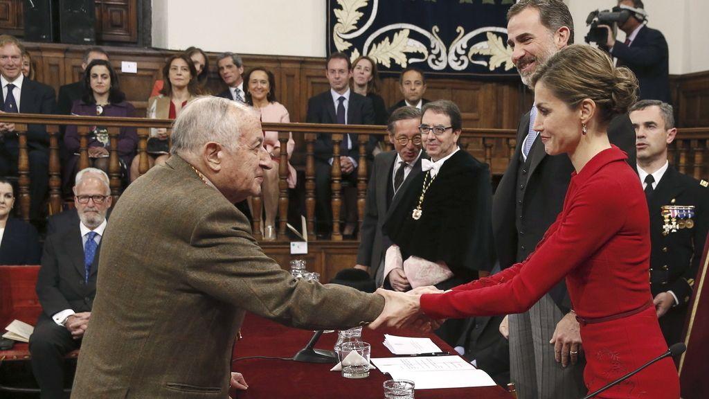 Goytisolo recibe el Premio Cervantes