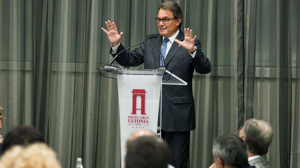 Conferencia de Artur Mas en Gerona