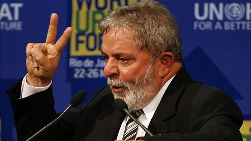 El ex presidente brasileño, Luiz Inácio Lula da Silva. EFE/Archivo