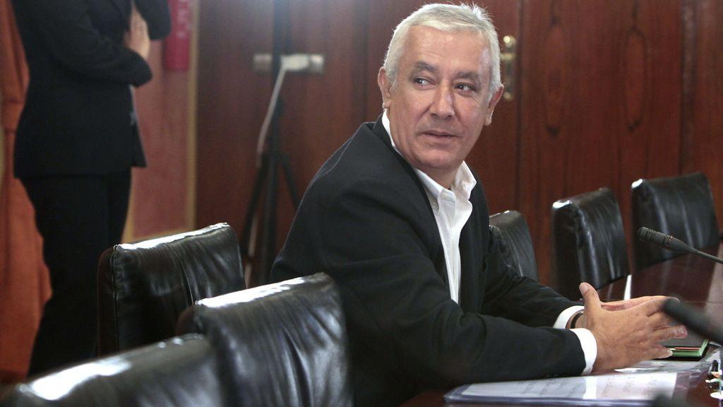 Javier Arenas en la Comisión de los ERE
