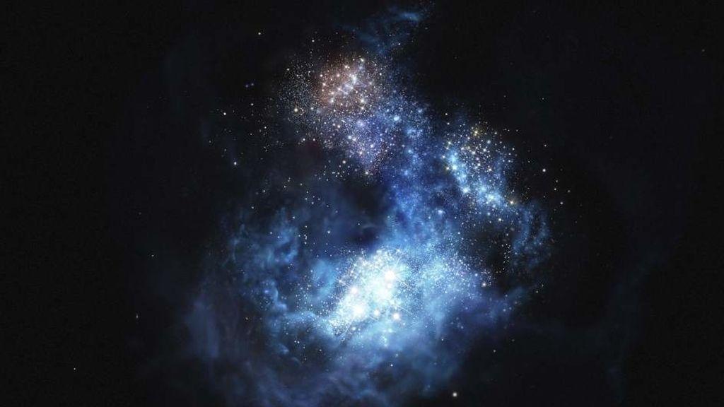 Imagen de la Galaxia CR7