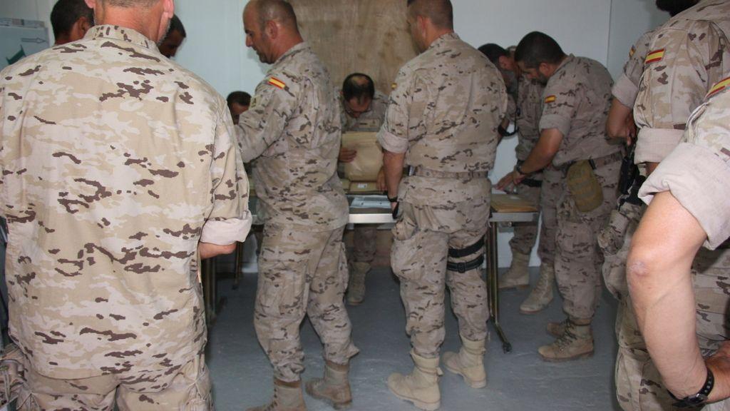 Un 72% de los militares en misión en el exterior ya han acudido a las urnas