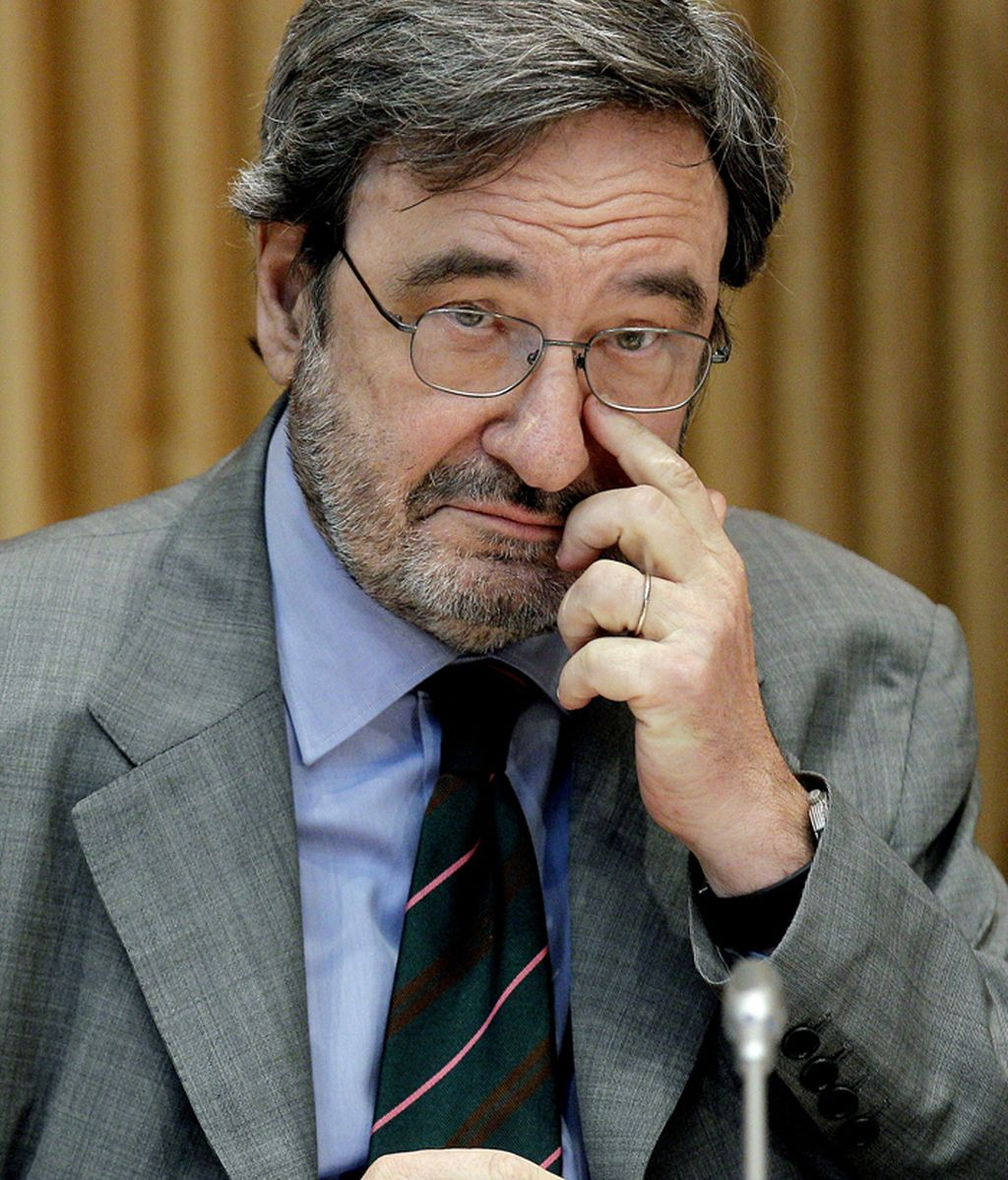 Narcís Serra, expresidente de Caixacataluña comparece ante el Congreso