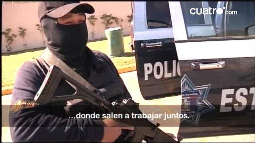Monterrey: En la patrulla con la polícia