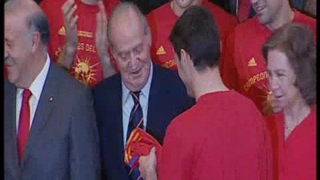 Las felicitaciones de Zapatero y Don Juan Carlos