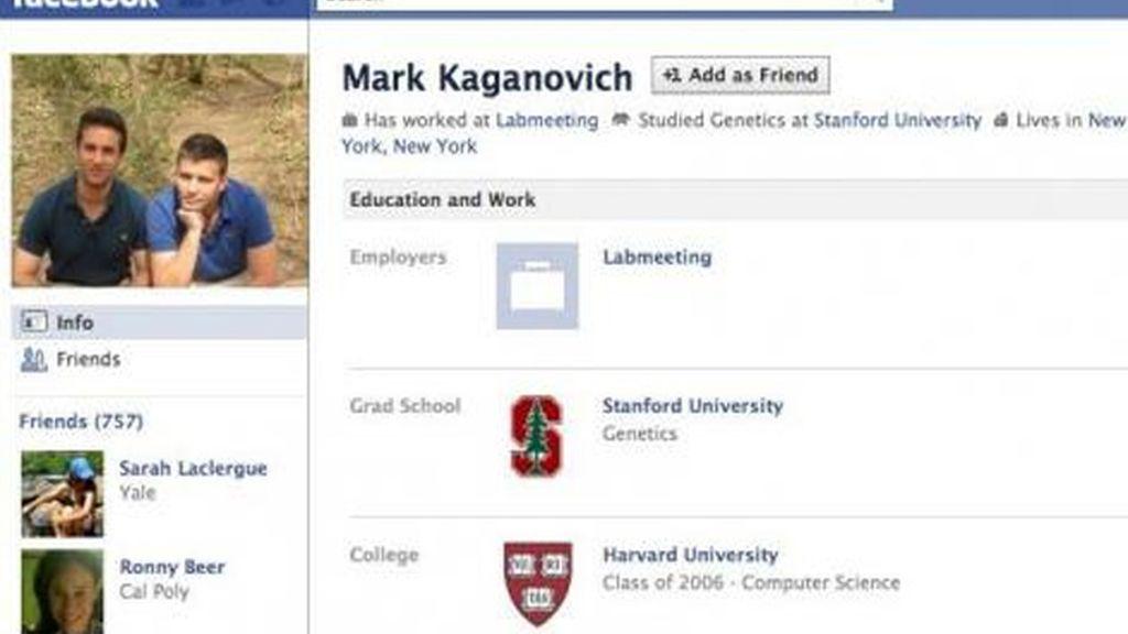 Mark Kaganovich: Estudio en Harvard y es amigo de David Hammer. Conoció de cerca a los fundadores