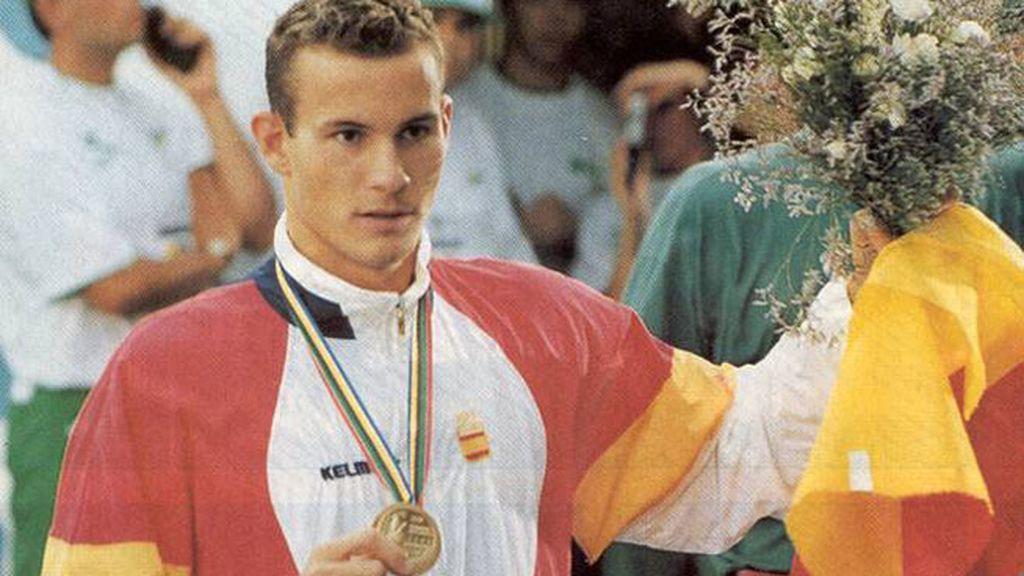 Barcelona 1992: López Zubero - Natación (200m espalda)