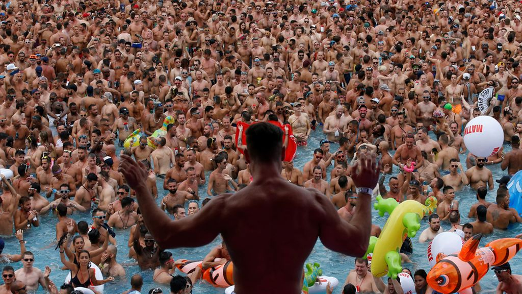 Música y agua, la escusa perfecta para reunir a 8.000 personas