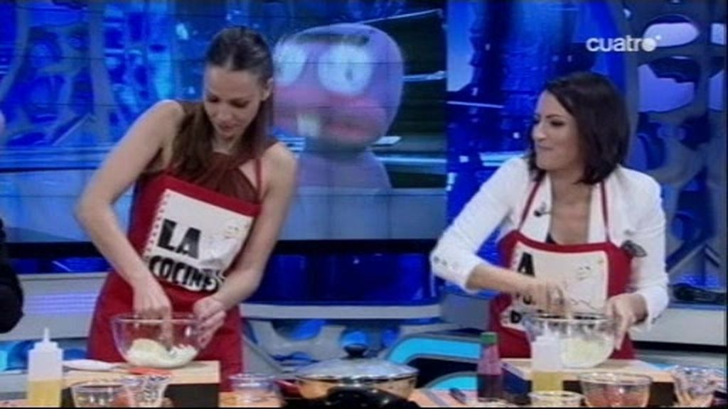 Fresas de cine con Eva González