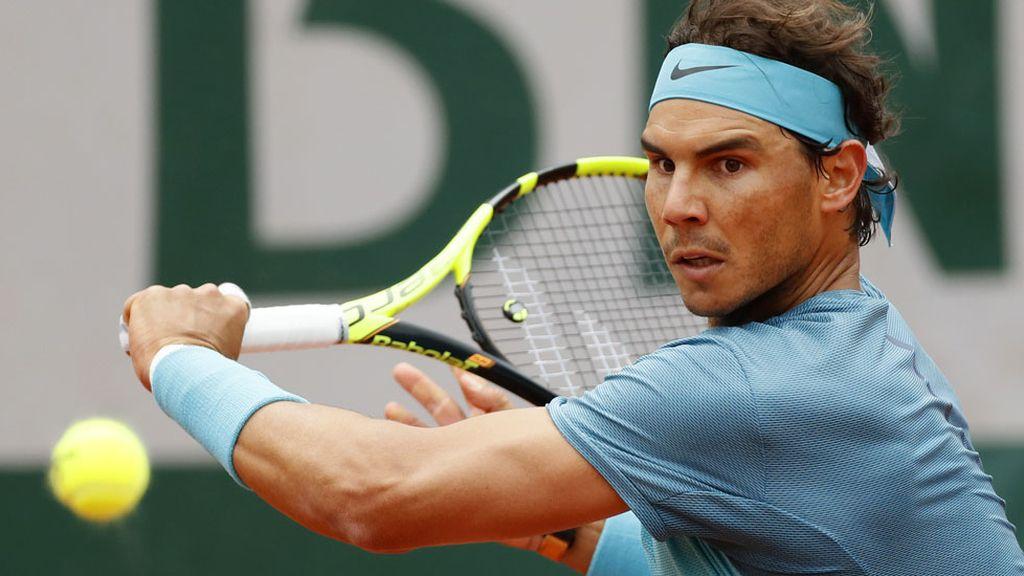 Nadal gana en su debut en Roland Garros (24/05/2016)