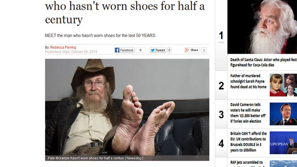 'Pete the Feet'
