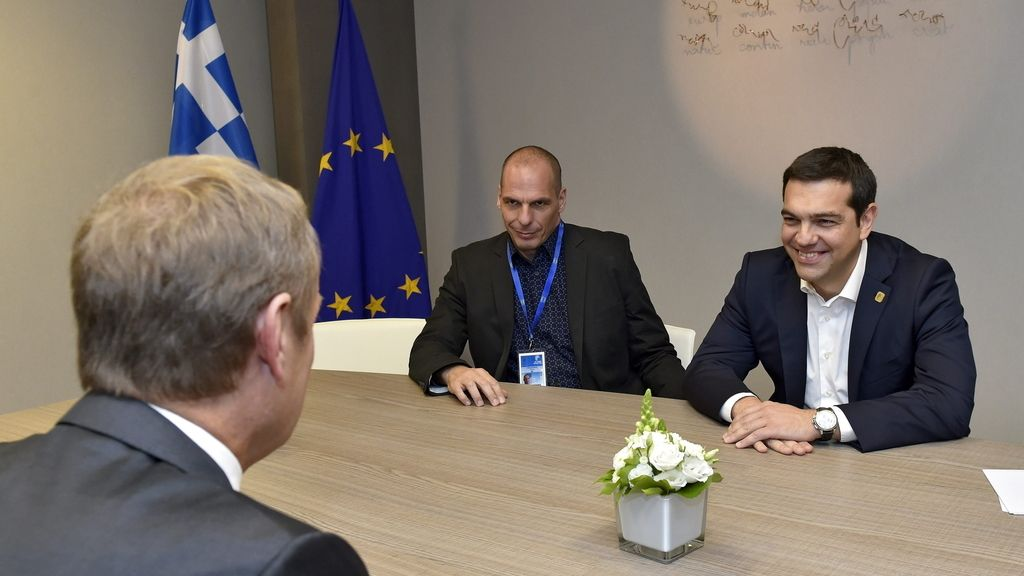 Cumbre extraordinaria sobre la crisis helena