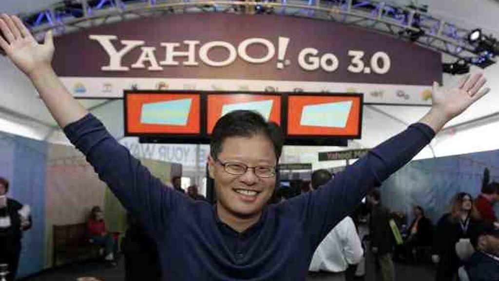 Imagen de archivo del cofundador de Yahoo, Jerry Yang