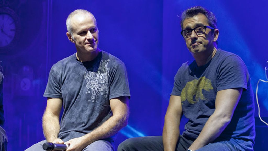 Mayumana ha contado con la colaboración de Andreu Buenafuente en Racconto