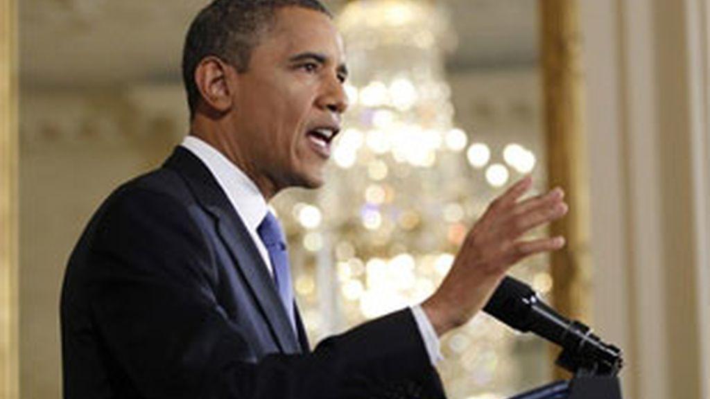 Obama aborda la crisis